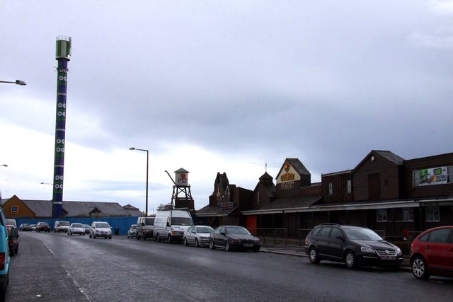 The former Frontierland at Morecambe