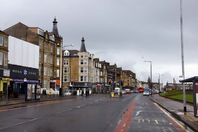 Marine Road West in Morecambe