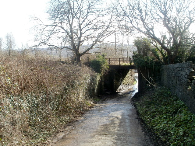 Northern side of a former railway bridge, Trethomas