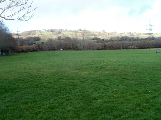 Open space on the NE edge of Trethomas