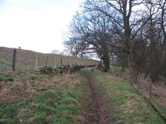 Footpath near Bank End Farm
