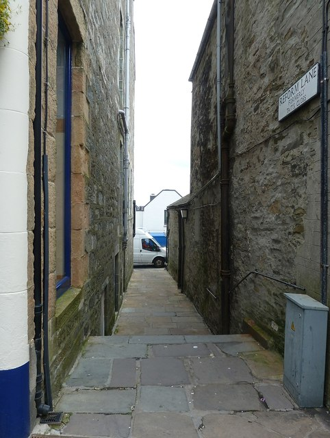 Reform Lane, formerly Tait's Closs, Lerwick - (East)