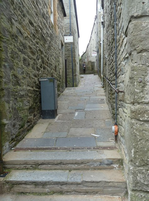Reform Lane, formerly Tait's Closs, Lerwick - (West)