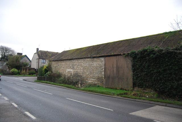 Flint Barn, Winterbourne Abbas