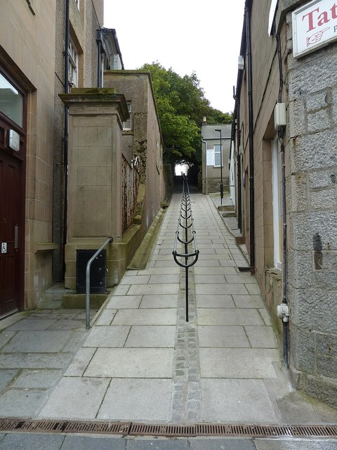Bank Lane, formerly Swallow Lane, Lerwick (1)