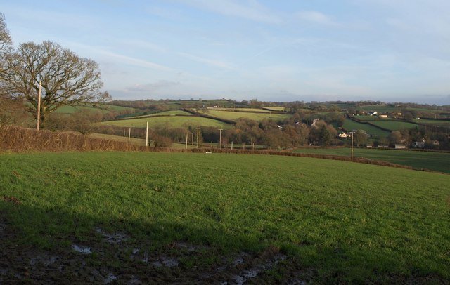 View from Bondleigh Cross