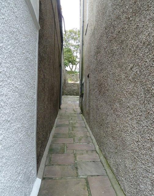 Pirate Lane, Lerwick (1)