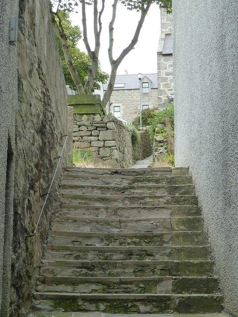 Pirate Lane, Lerwick (Steps)