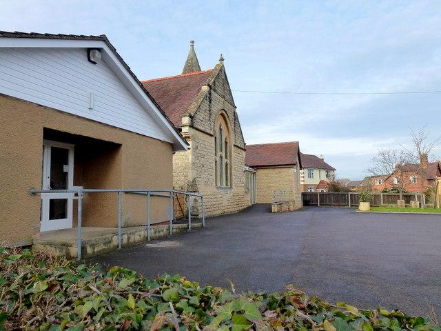 Churchdown Methodist church and hall