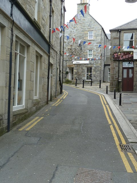Mounthooly Street, formerly Bakers Closs, Lerwick (1)