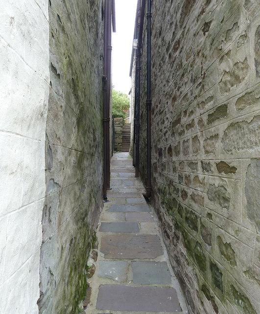Crooked Lane, formerly Betty Mann's Closs, Lerwick