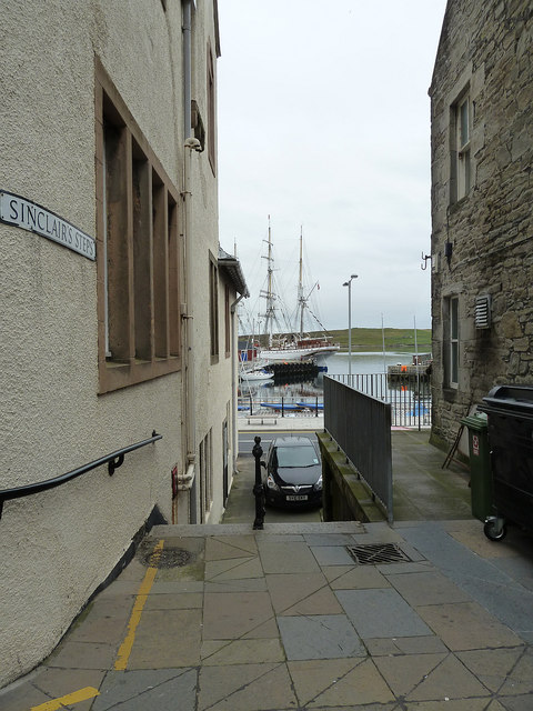 Sinclair's Steps, Lerwick