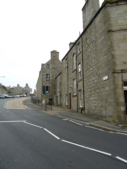 Church Road formerly Soot Kirk Closs, Lerwick