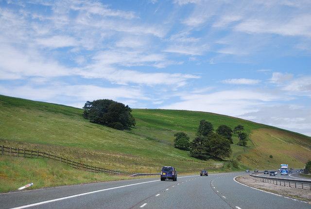 A74(M) near Kirkton