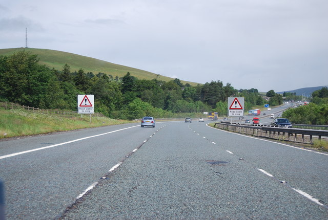 A74(M) south of Abington