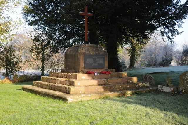 Llantilio Crossenny War Memorial