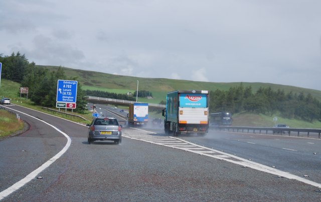 Junction 13, A74(M)