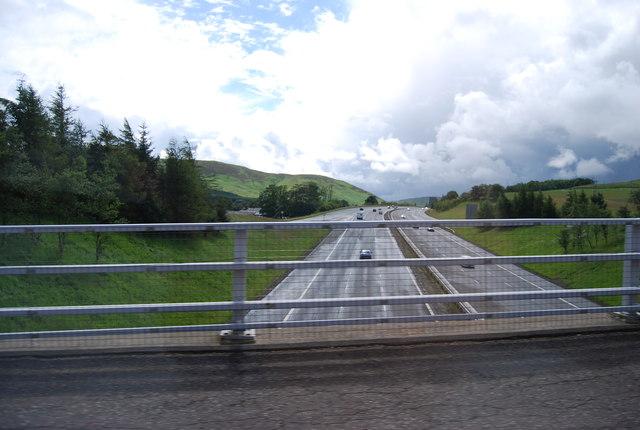 A74(M) heading south