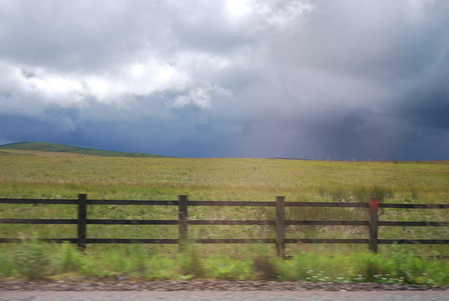 White Rigg seen from the M74
