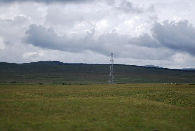 Pylon south of Wildshaw Hill