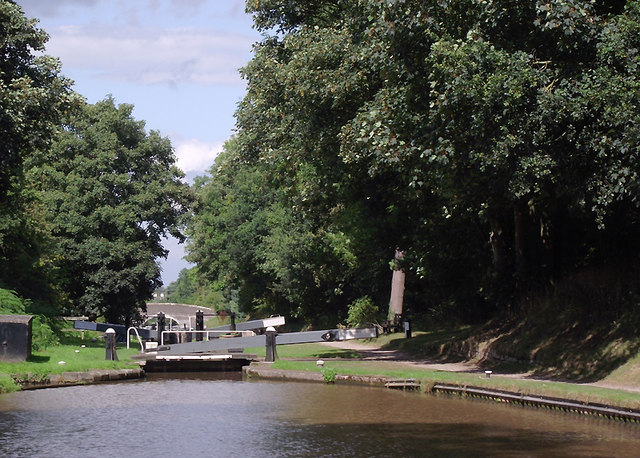 Audlem Locks No 5, Cheshire