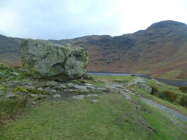 Site of Hut, Easedale Tarn