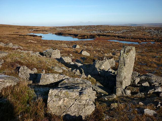 Small tarn near the Maiden Way on Melmerby Fell
