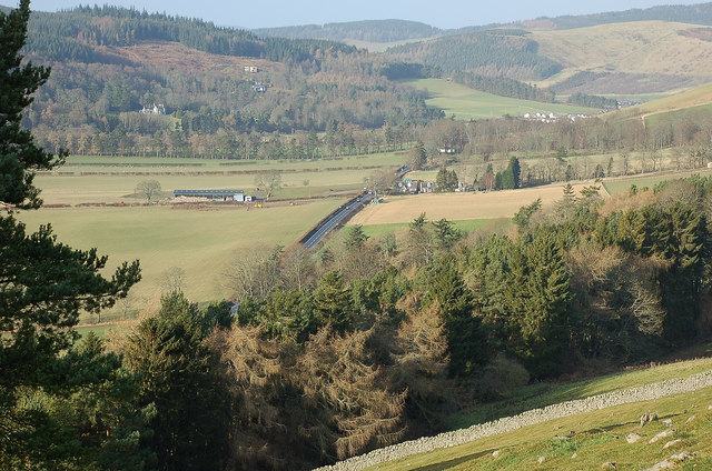 Northwest from Caerlee Hill