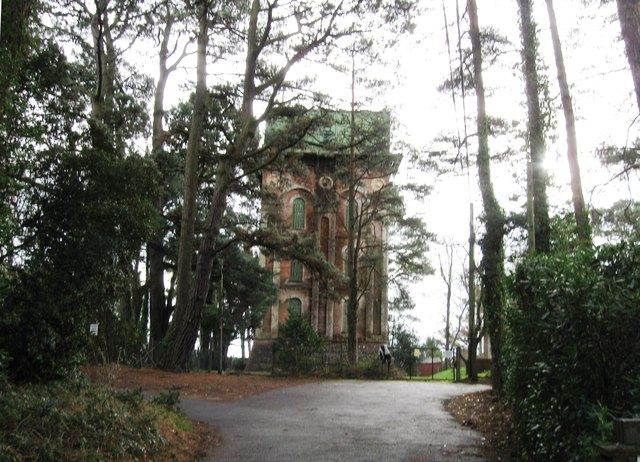 Grade II listed Water Tower, Broadstone