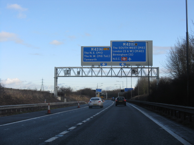 North or South on the M42