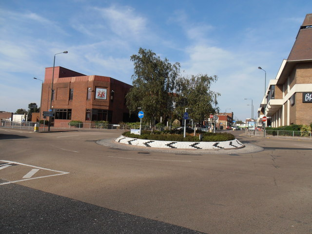 Albion Road/Townley Road Roundabout