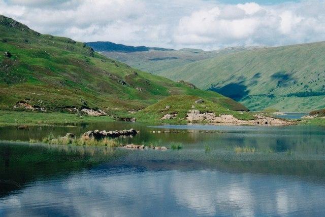 Loch Treig wall