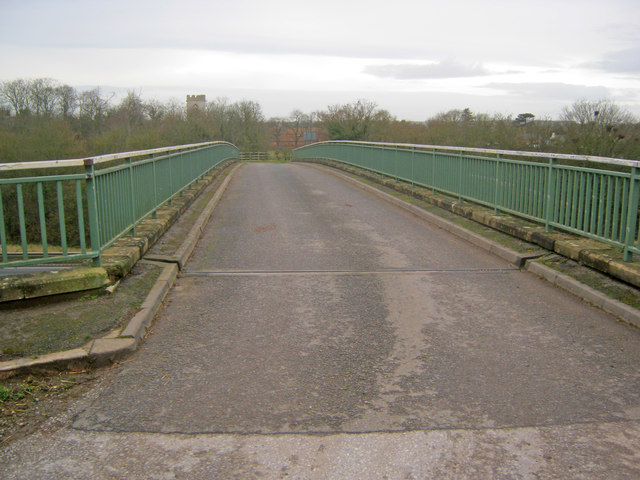 Bridge over the A1 at Cromwell