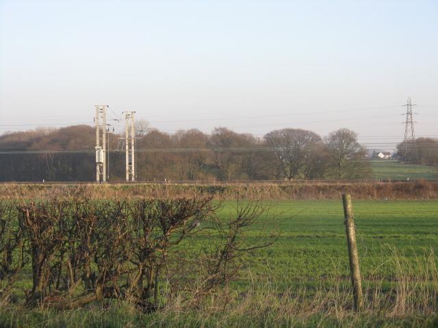 Across the fields near Lowton
