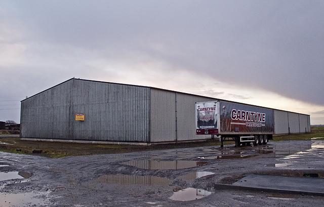 Vacant warehouse