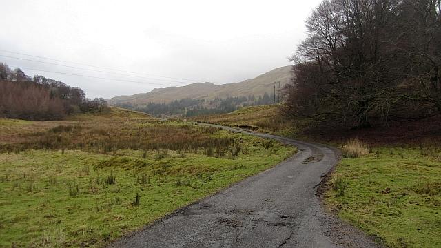 Road in Glen Lonan