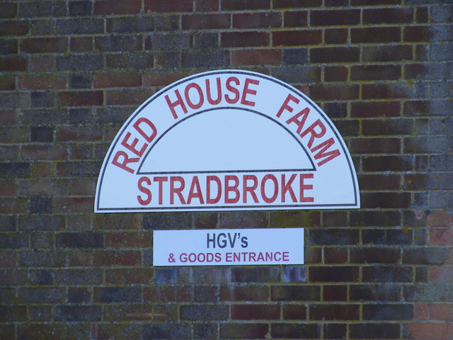 Red House Farm sign