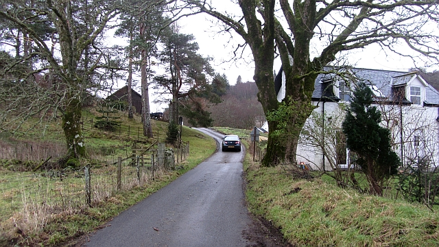 The Glen Lonan road