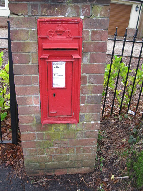 Letter Box with Bench Mark
