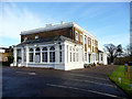 TQ2797 : Club House, Hadley Wood Golf Course, Beech Hill, Cockfosters by Christine Matthews