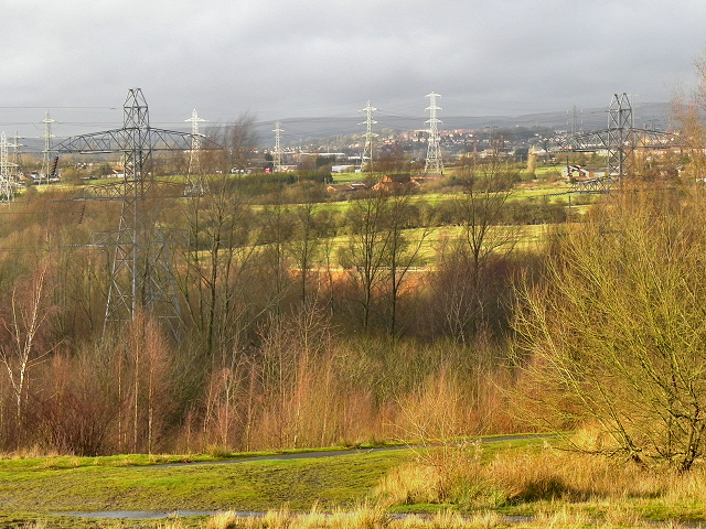 View From Outwood Country Park