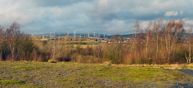 Wide Angle View from Outwood Country Park