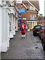 SU1405 : Town Crier, Ringwood by Miss Steel