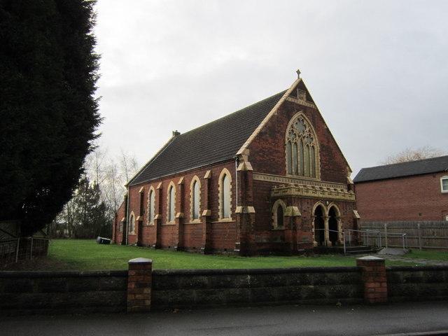 An unnamed church in Hartshorne