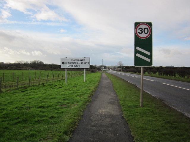 A75 & Footpath