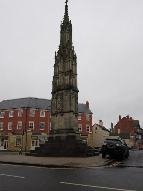 The Loudoun Memorial, Ashby de la Zouch