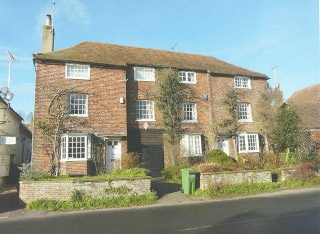 Semi-detached house, High Street, Elham