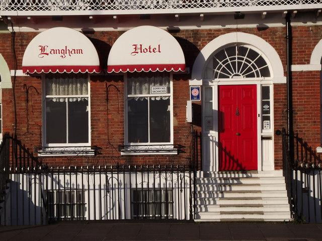 Langham Hotel, Weymouth