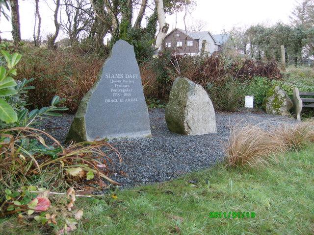 "Monument to ""Siams Dafi"""