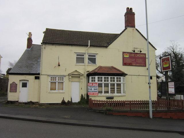 The Crown on Hinckley Road, Ibstock